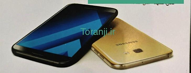 Samsung Galaxy A7 станет похож на Galaxy S7