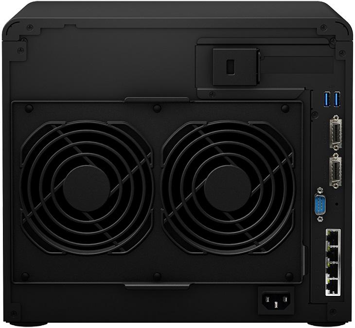 NAS Synology DS3617xs поддерживает адаптер 10 Gigabit Ethernet с агрегацией