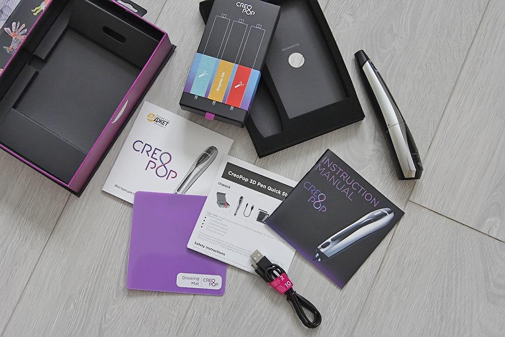 3D-ручка CreoPop, рисующая светоотверждаемыми чернилами - 11