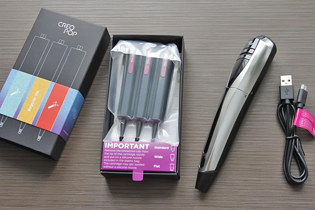 3D-ручка CreoPop, рисующая светоотверждаемыми чернилами - 13