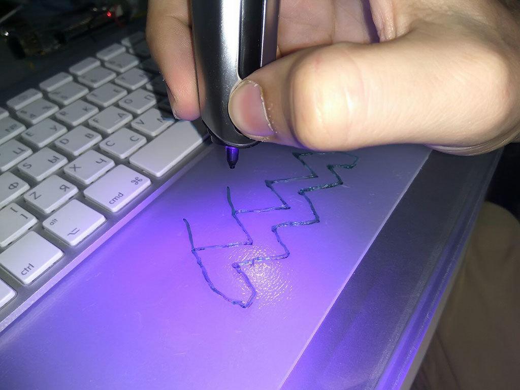 3D-ручка CreoPop, рисующая светоотверждаемыми чернилами - 21
