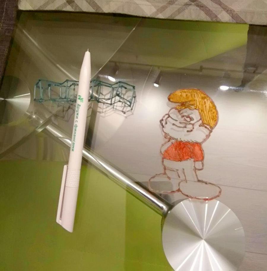 3D-ручка CreoPop, рисующая светоотверждаемыми чернилами - 31
