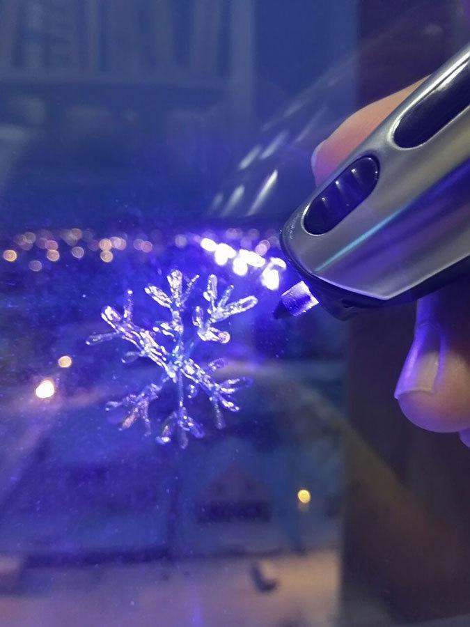 3D-ручка CreoPop, рисующая светоотверждаемыми чернилами - 33