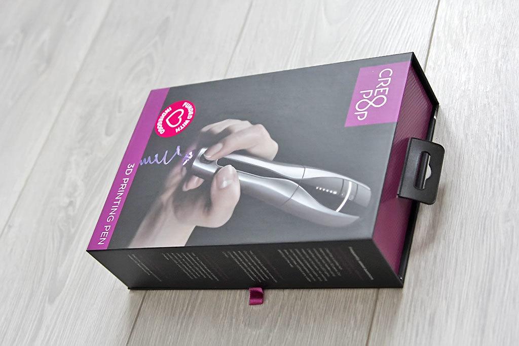 3D-ручка CreoPop, рисующая светоотверждаемыми чернилами - 4