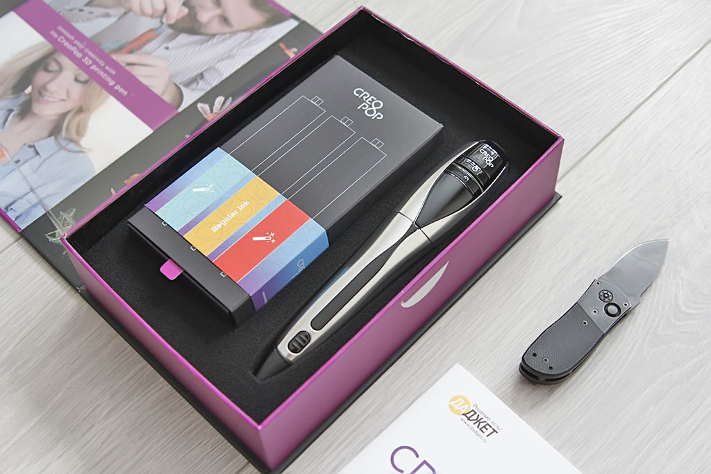 3D-ручка CreoPop, рисующая светоотверждаемыми чернилами - 6