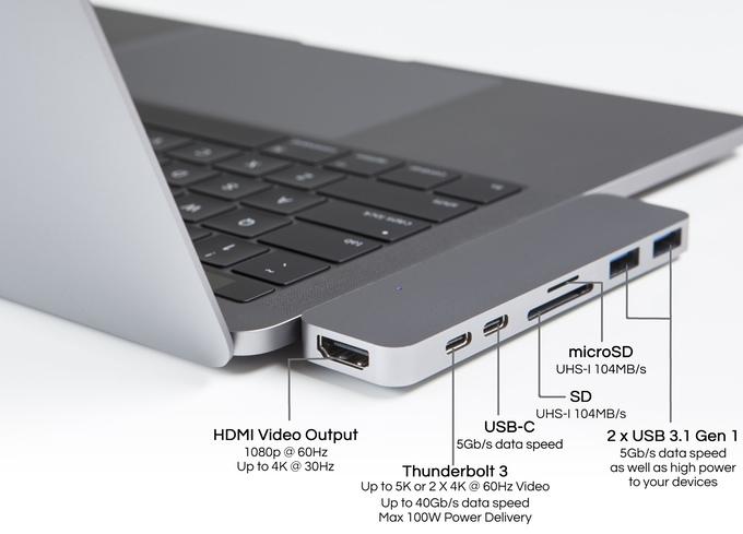 Адаптер HyperDrive стоит $100