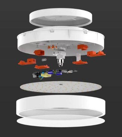 Потолочная светодиодная лампа с управлением со смартфона Xiaomi Yeelight оценена в $50