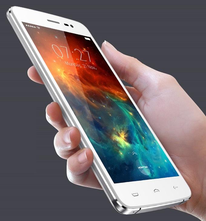 Смартфон HomTom HT27 основан на устаревающей четырехъядерной SoC MediaTek - 1
