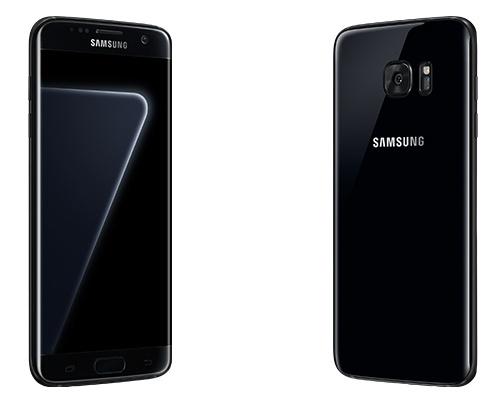 Смартфон Samsung Galaxy S7 Edge в цвете Black Pearl оснащен 128 ГБ флэш-памяти