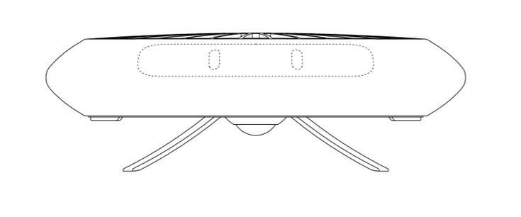 Samsung разрабатывает дрон в виде НЛО