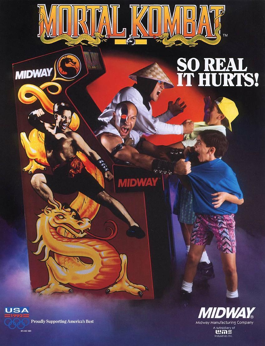 Mortal Kombat: всё началось с апперкота. Интервью с одним из создателей серии игр MK - 3