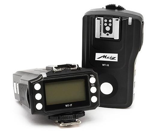 Для передачи сигналов в Metz WT-1 используется радиоканал в полосе 2,4 ГГц