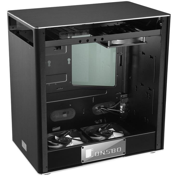 Корпус Jonsbo VR2 получил алюминиевые декоративные панели