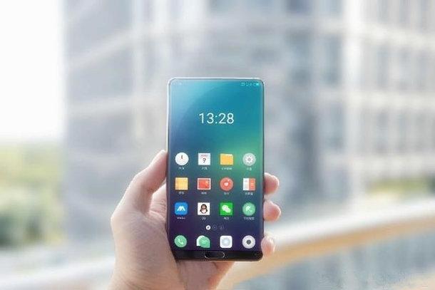 Но новом изображении безрамочный смартфон Meizu похож на Xiaomi Mi Mix