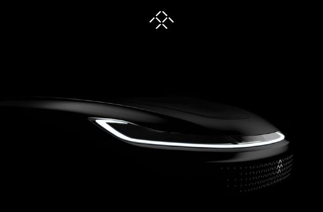 Опубликованы новые изображения электромобиля Faraday Future, который должны представить 3 января накануне CES 2017