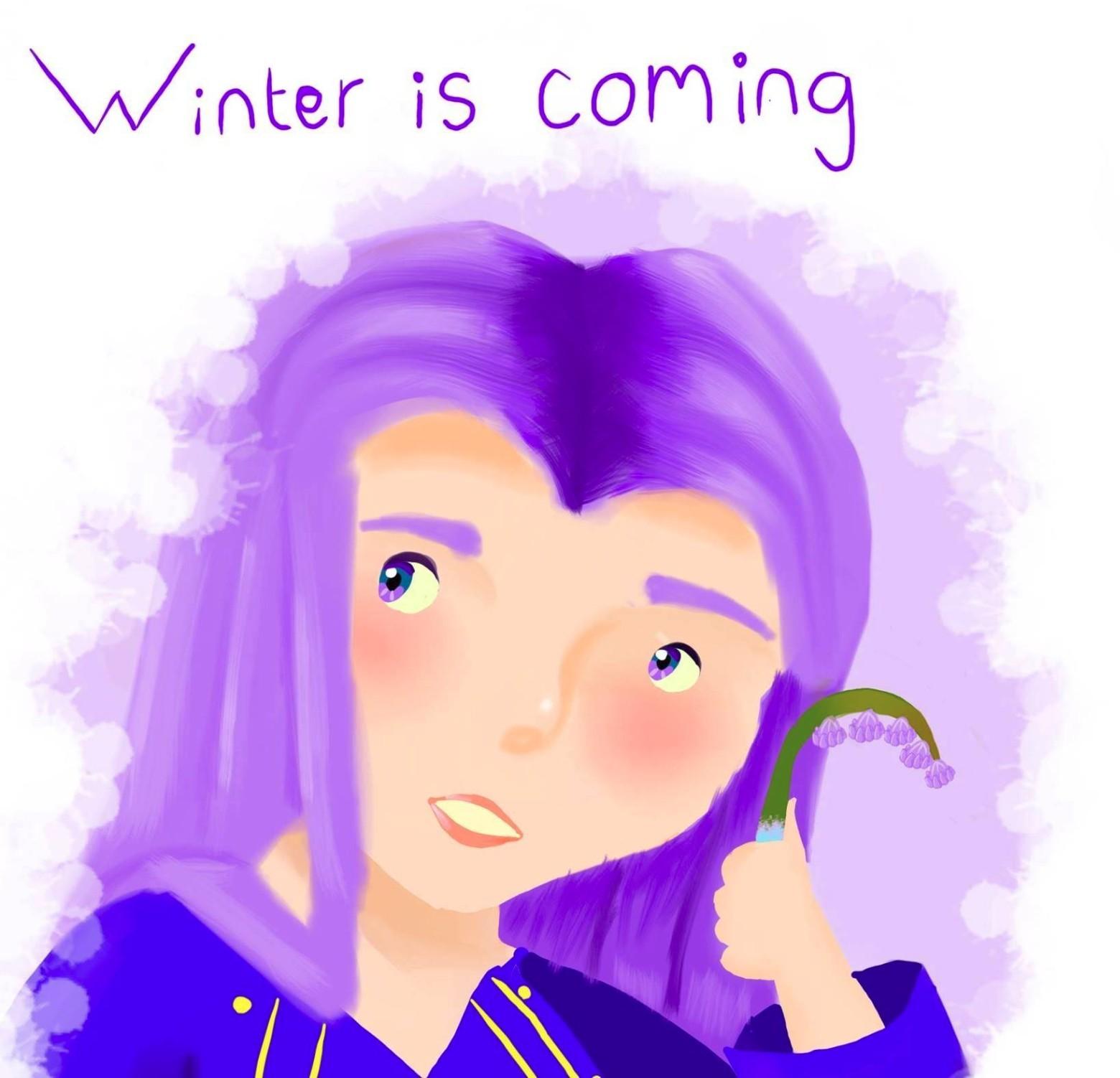 HBO заставила удалить детский рисунок с надписью «Зима близко» - 1
