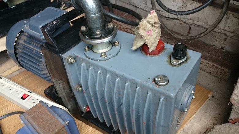 Электронный микроскоп в гараже: Про вакуум - 11