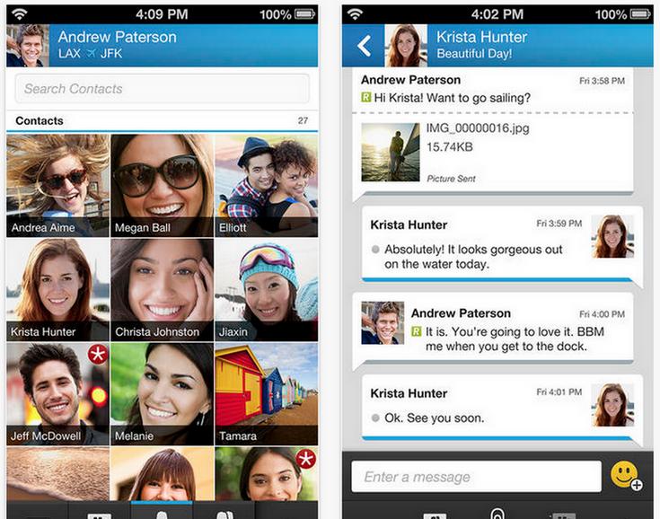 BlackBerry Messenger придёт на новую операционную систему