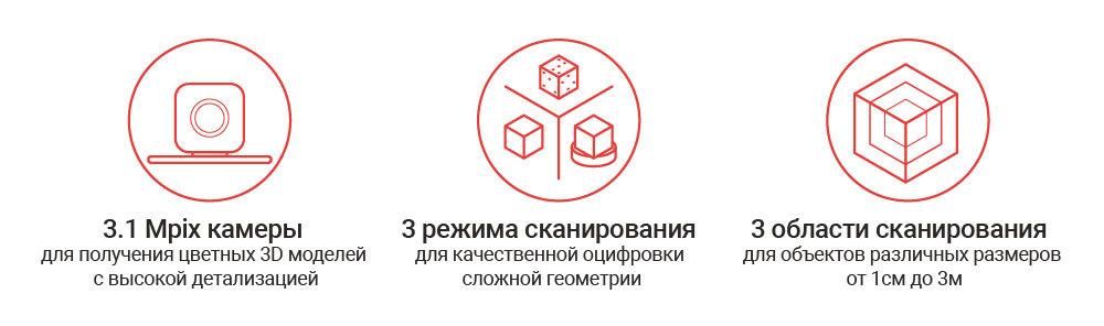 3D-сканеры до 500 000 рублей - 16