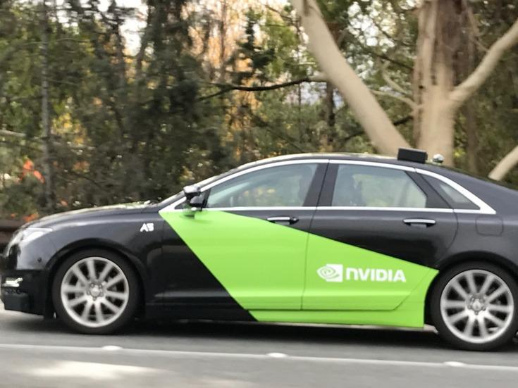 Nvidia сама проводит тестирование своих разработок для автомобильного сегмента