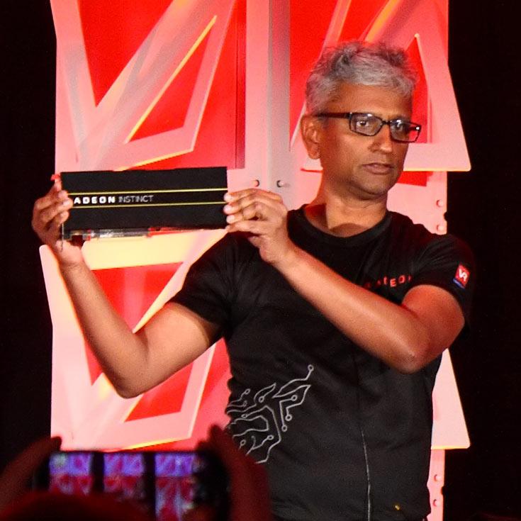 Представлены три модели ускорителей AMD Radeon Instinct