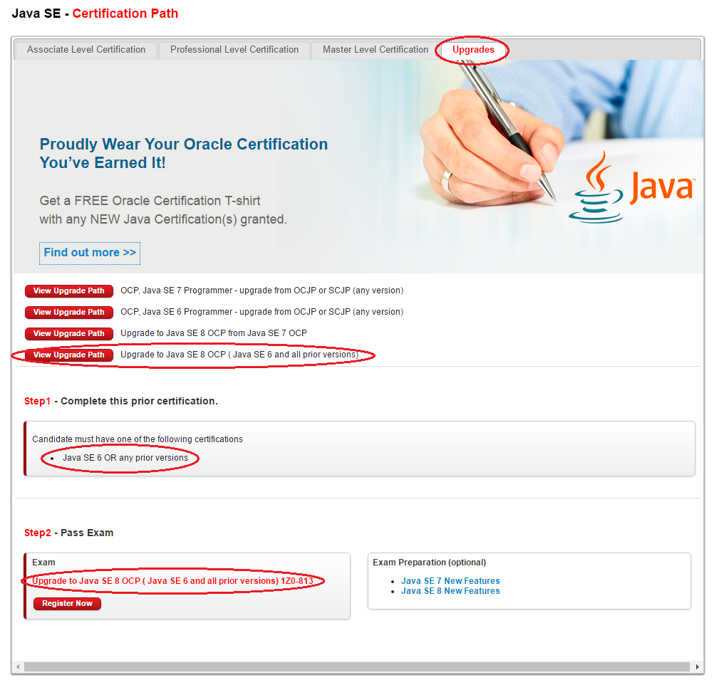 Как стать Oracle Certified Professional Java SE 8 Programmer - 5
