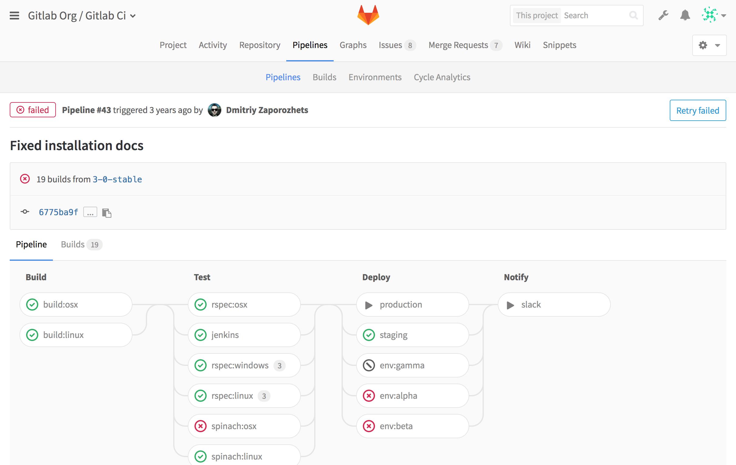 Вышел GitLab 8.14 - 10