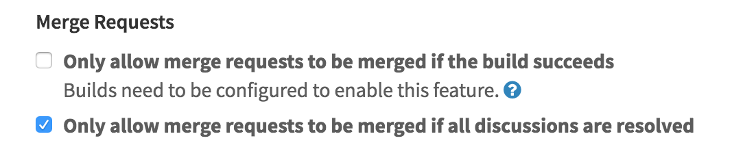 Prevent merge until review is done in GitLab 8.14
