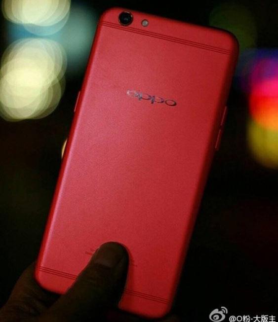 Продажи красного варианта Oppo R9S начнутся в Китае до конца года