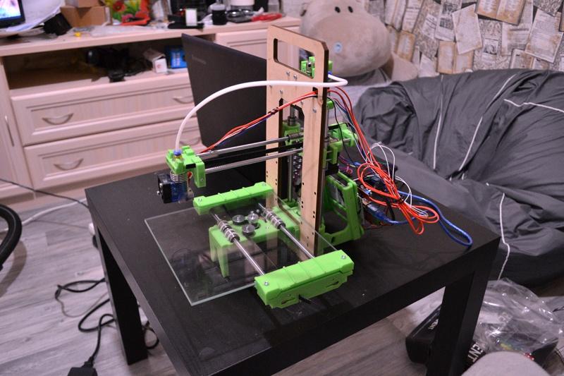 Импортозамещение снеговиков, или готовимся к Новому Году с 3D-принтером «3D-Старт» от Даджет - 4