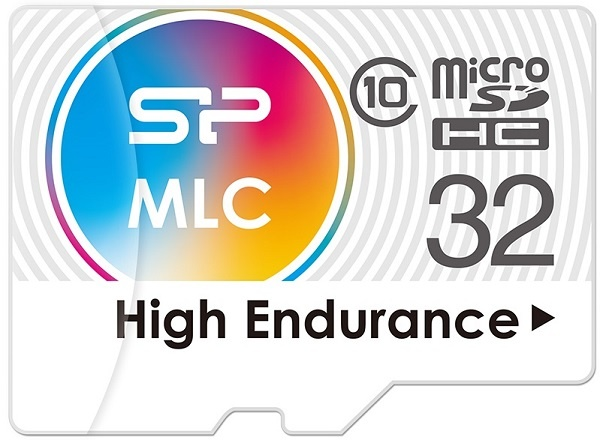 Карты Silicon Power High Endurance microSDHC и microSDXC основаны на флэш-памяти MLC