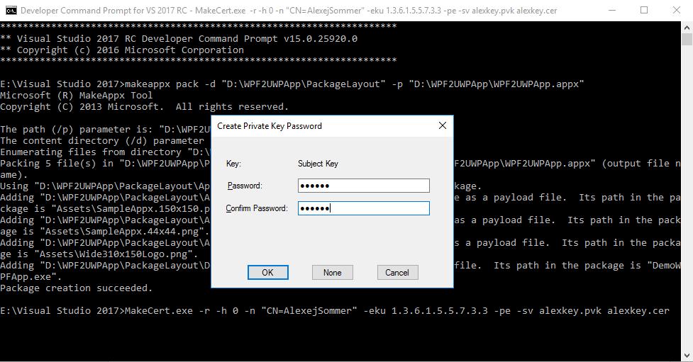 Конвертируем десктопное приложение в appx с помощью Desktop Bridge - 2