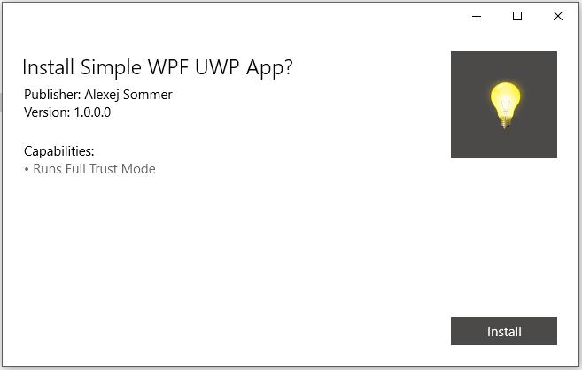Конвертируем десктопное приложение в appx с помощью Desktop Bridge - 8