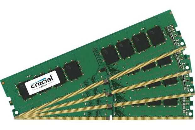По подсчетам производителя, новые модули на 11% быстрее модулей памяти Crucial DDR4-2400
