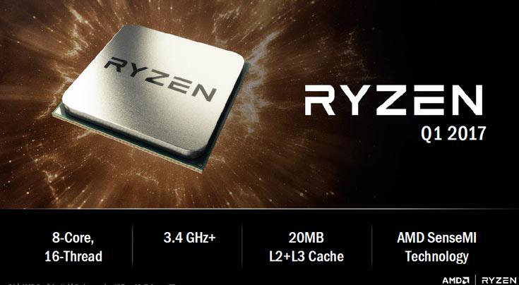 Процессоры AMD Ryzen будут частью платформы AMD AM4