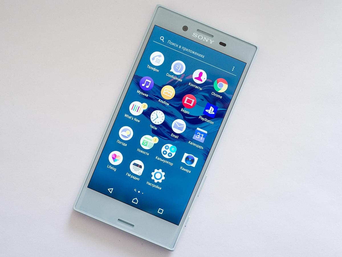 Обзор смартфона Sony Xperia XCompact - 2