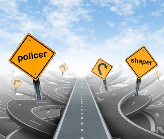 Ограничение скорости передачи трафика. Policer или shaper, что использовать в сети? - 1