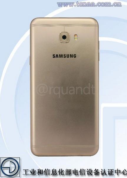 Смартфон Samsung Galaxy C7 Pro примерит на себя разделённые полоски для антенн