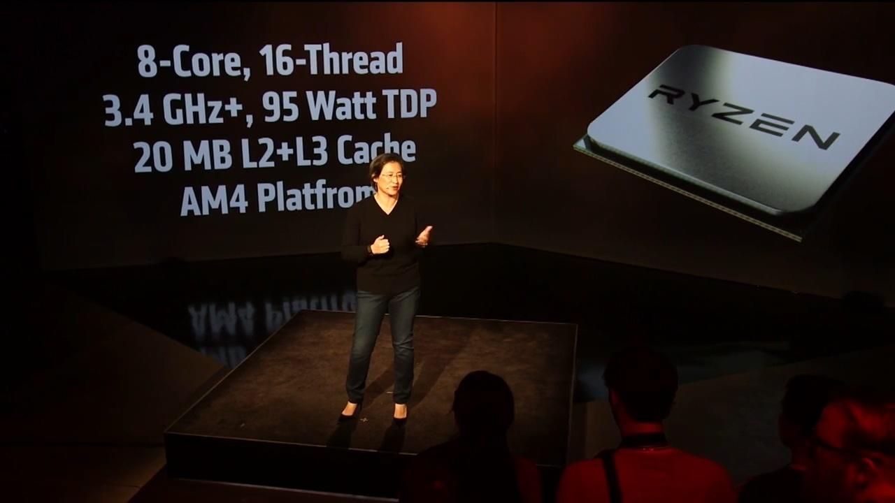Новая эра процессоров от AMD: Обзор презентации процессора Ryzen (Zen). Умный процессор? - 4