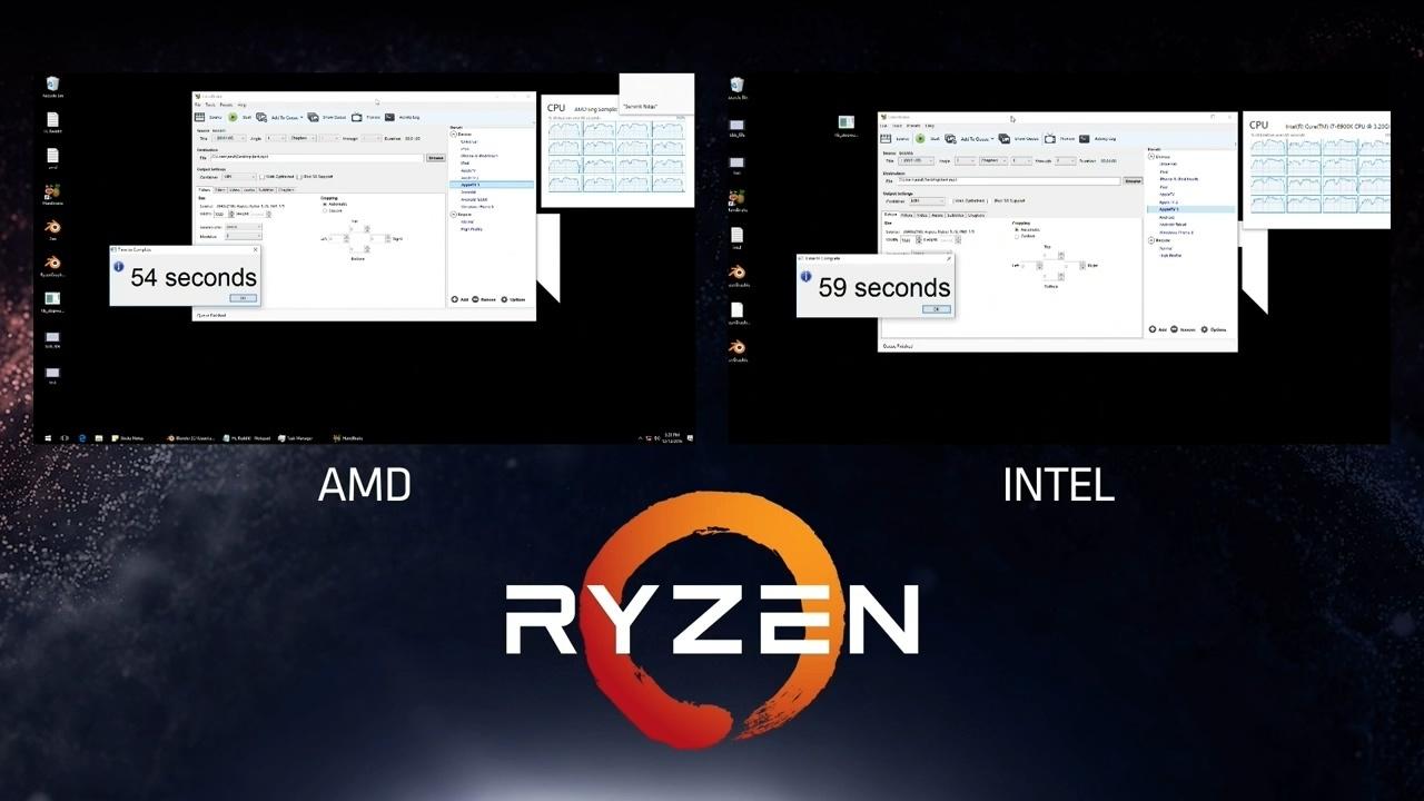 Новая эра процессоров от AMD: Обзор презентации процессора Ryzen (Zen). Умный процессор? - 7