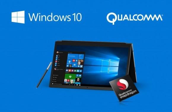 Производители ПК уже начали тестировать ноутбуки и планшеты с SoC Qualcomm и Windows 10