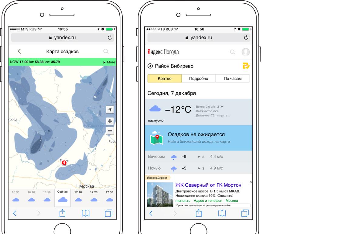 Яндекс использовал нейросеть и научился прогнозировать осадки с точностью до минут - 8