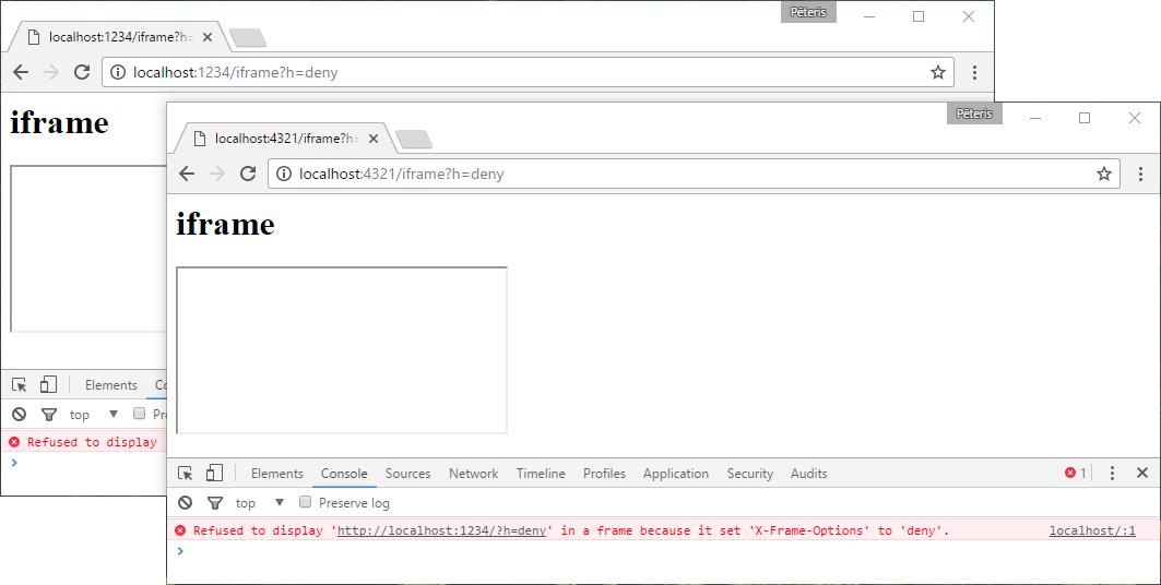 Экзотичные заголовки HTTP - 10
