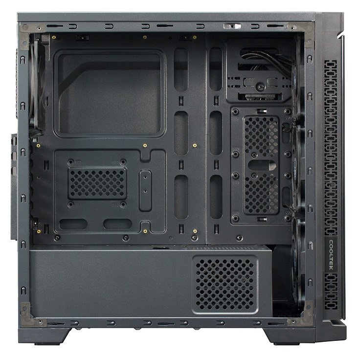 Корпус Cooltek TG-01 получил версии с фиксированной и переключаемой подсветкой