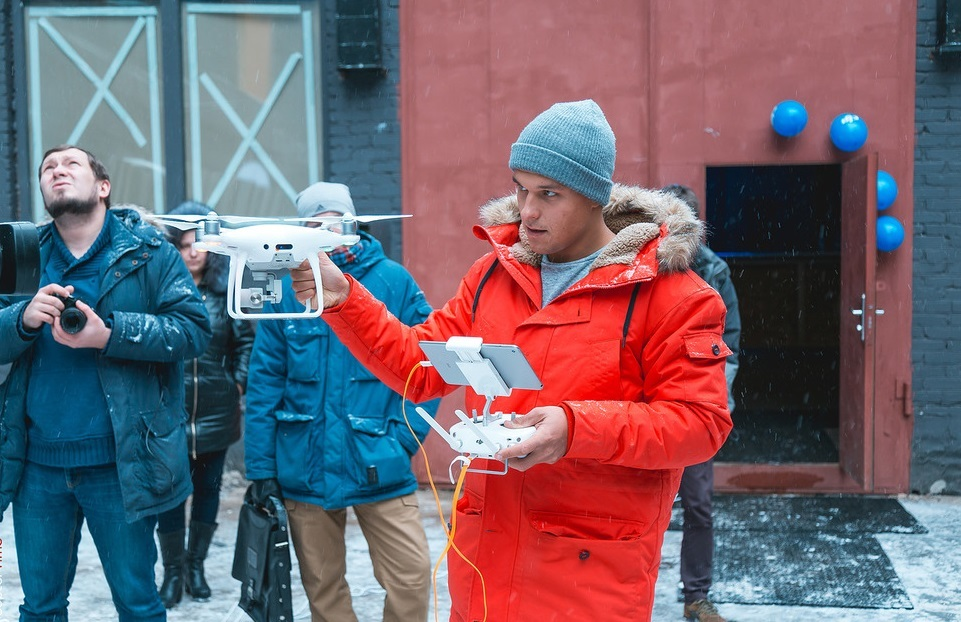 Новинки DJI в Москве: Inspire 2 и Phantom 4 Pro - 22
