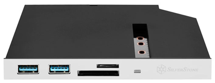 Панели SilverStone FPS01 и FPS01-C стоят 44 евро