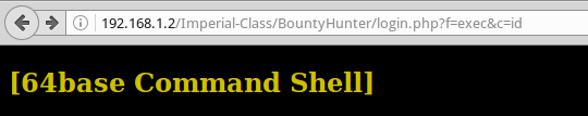 VulnHub Решение простого 64Base: Boot2Root - 6