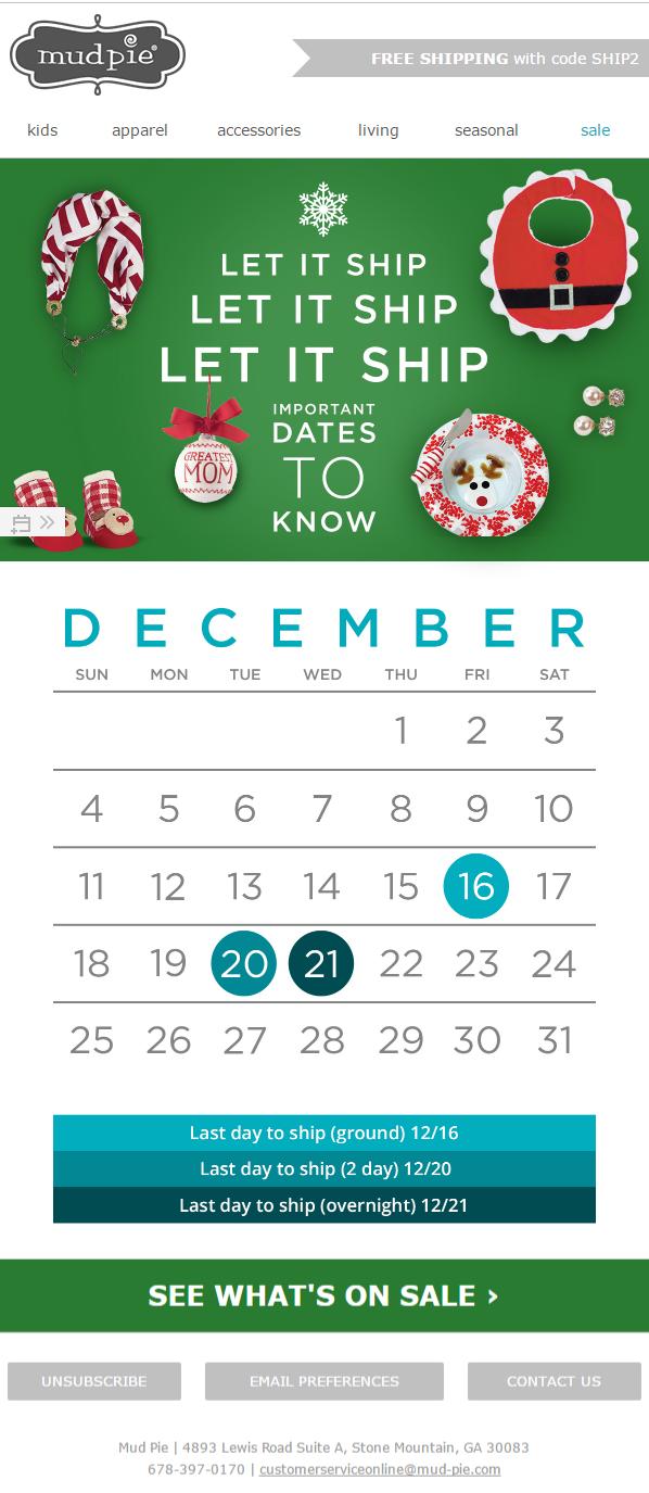 Как составить успешные праздничные рассылки - 9