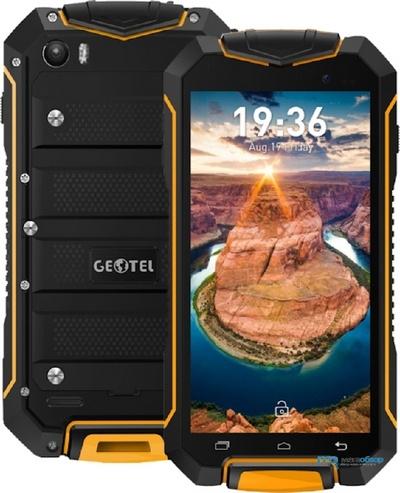 Бюджетный защищенный смартфон Geotel A1 работает под управлением Android 7.0 Nougat