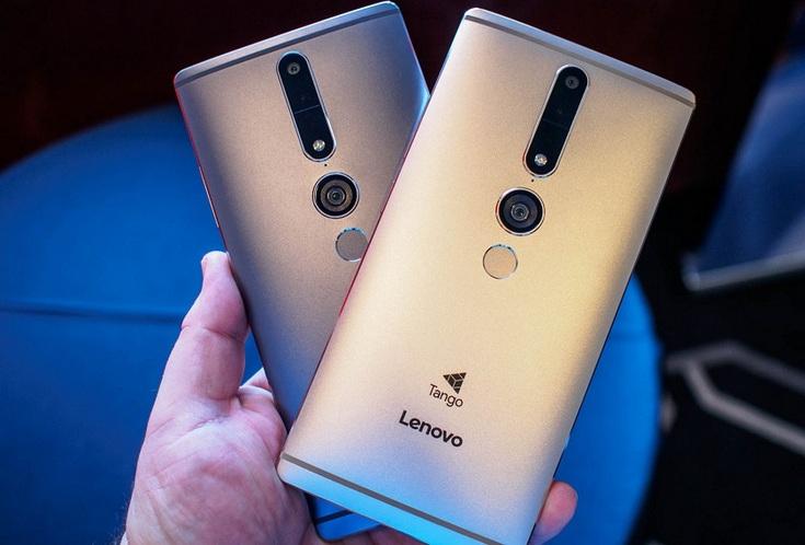 В следующем году Lenovo выпустит ещё один смартфон с технологиями Tango